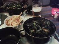 Moules-frites: il piatto nazionale