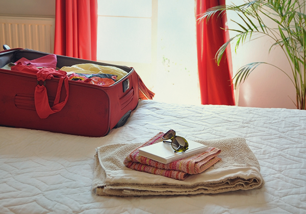 thesuitcaseisonthebed